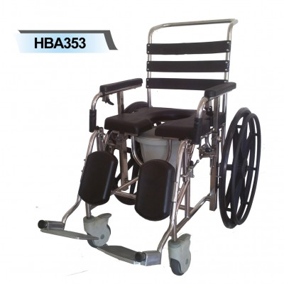 HBA353 Mobile Shower Commode Self Propel