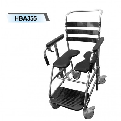 HBA355 Shower Commode Split Seat