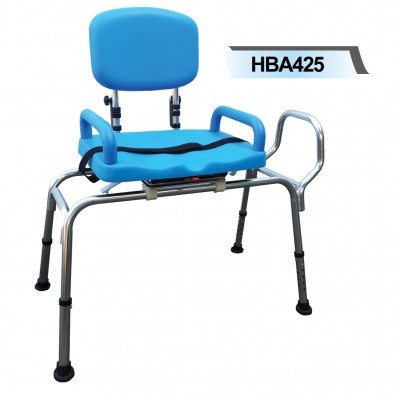HBA425 Bath Transfer Bench Rotatable Seat