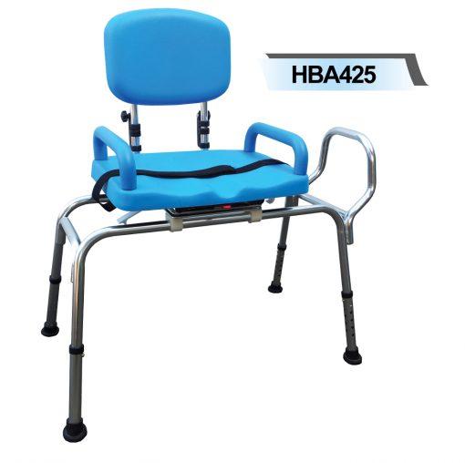 HBA425 Bath Transfer Bench Rotatable Seat