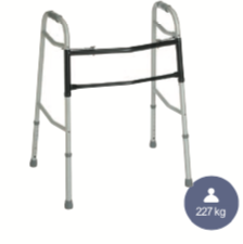 Heavy Duty Breezy folding walking frame